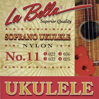 Pakke med strenge til sopranukulele