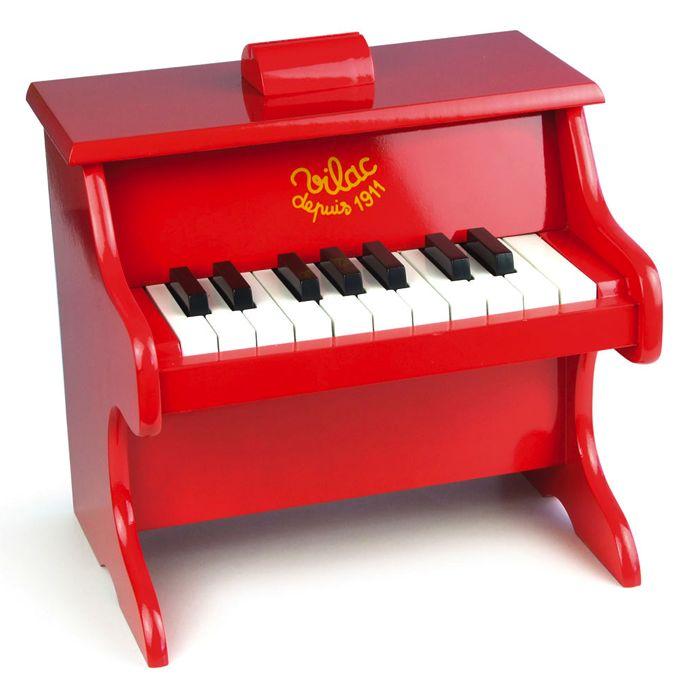 klaver til børn fra vilac i rødt