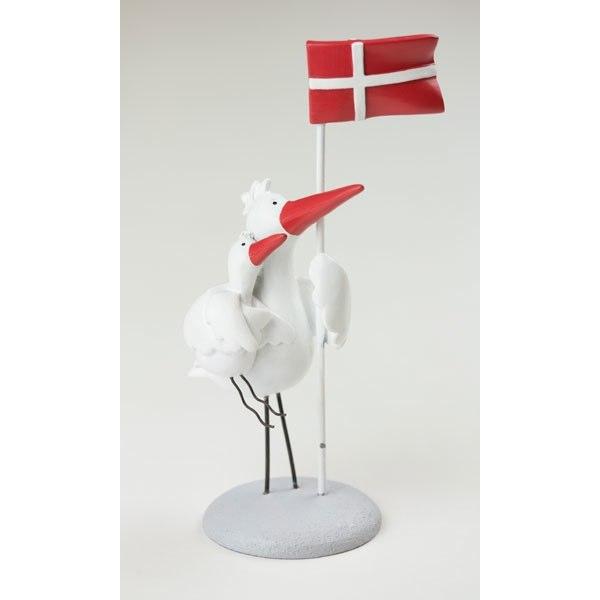 friisenborg stork med flag