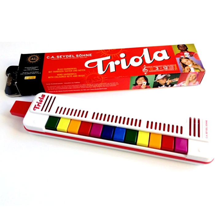 Seydels triola melodica og kasse
