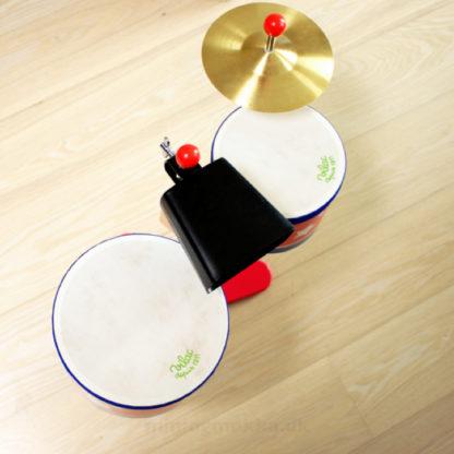trommerne set fra oven