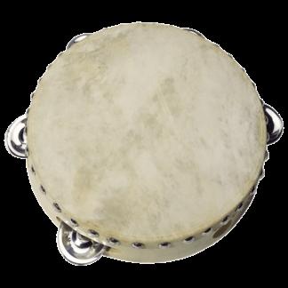 Håndtromme og tambourin i et