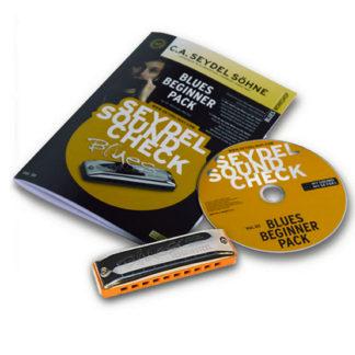 Mndharmonika begynderpakke 1 med mundharmonika cd og instruktionsbog