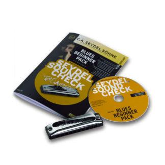 begyndermunharpe bog og cd og mundharmonika