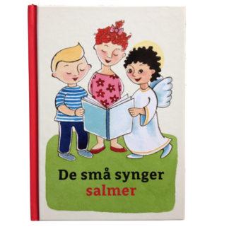 Salmebog til børn med en engel og to unger på forsiden