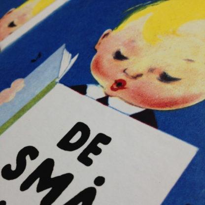 closeup af den lille lyshårede dreng