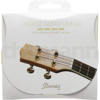 Pakke med strenge til sopran- og concert-ukulele