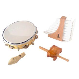 Eksklusive adventspakker med lækre træinstrumenter og musiklegetøj til børn