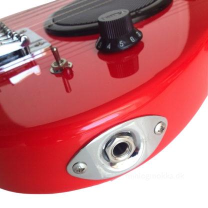 jack udgang for tilslutning til guitarforstærker