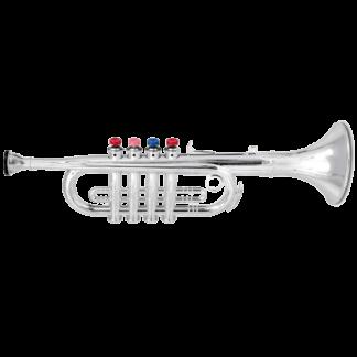 Sjov legetøjstrumpet med fire toner