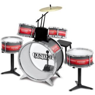 Trommesæt legetøj med mange trommer og tilbehør