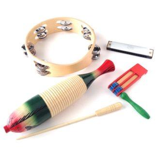 Adventsgaver med musikinstrumenter og musiklegetøj til børn på 3-6 år