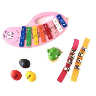 Adventsgaver til piger med musikinstrumenter og musiklegetøj
