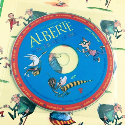 cd med Albertes børnesange er inkluderet