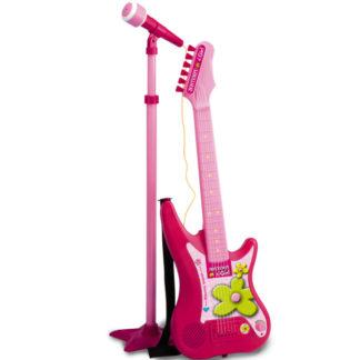 musiklegetøj elektronisk i pink