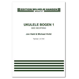 Ukulelebogen med ukulelegreb og becifringer