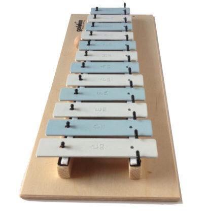xylofon på træplade