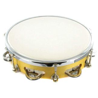 Håndtromme med tambourin 20 cm