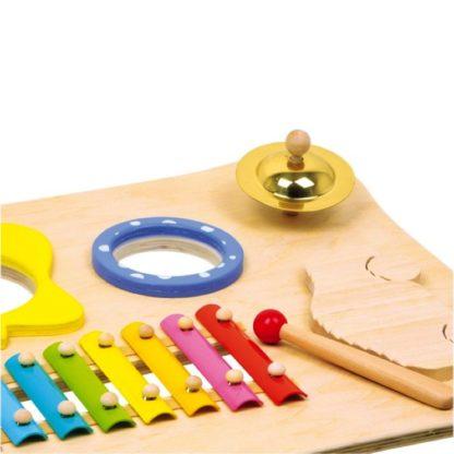 nærbillede af instrumenterne