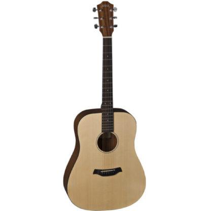 Akustisk guitar i træ western model