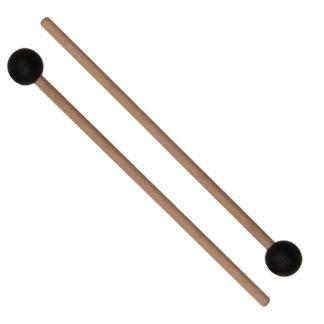 2 stk køller med gummiknopper