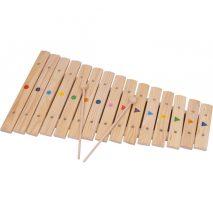 Stor børne-xylofon i natur
