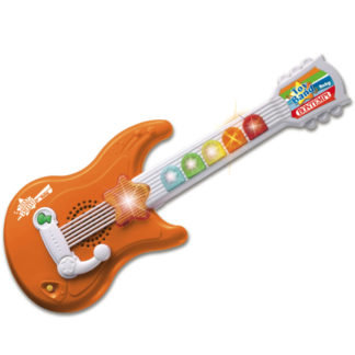 orange guitar til småbørn