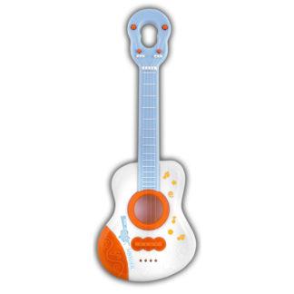 hvid guitar til små børn
