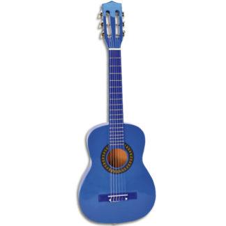 blå guitar børnemodel