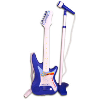 legetøjsinstrument med mikrofon