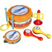 5 musikinstrumenter til børn på halvandet