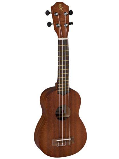 ukulele i mahogni