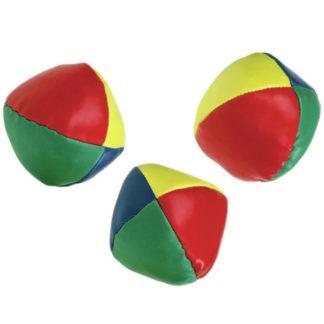 3 bolde i forskellige farver