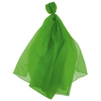 grønt trylletørklæde i stor udgave