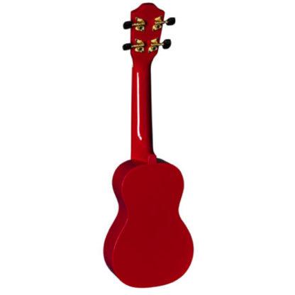 bagsiden af en ukulele i træ