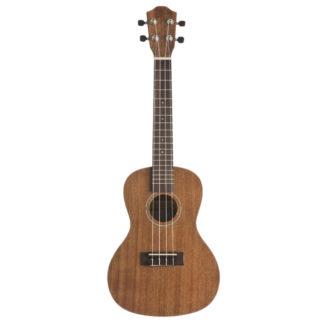 concert ukulele i træ