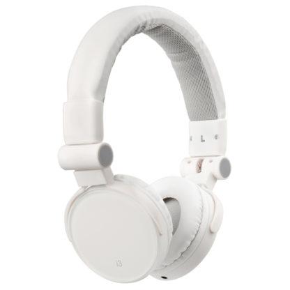 hvide hovedtelefoner