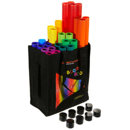 move and groove taske med 25 boomwhackers