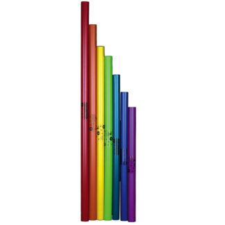 boomwackers i 7 forskellige farver lange basrør