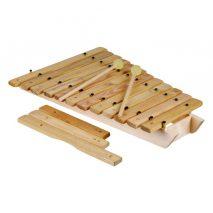 Xylofon med 12 toner og 3 ekstra toner
