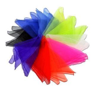 10 rytmetørklæder i 100% nylon