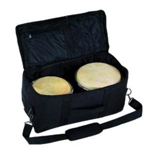 Taske til bongotrommer i standardstørrelse med skulderrem