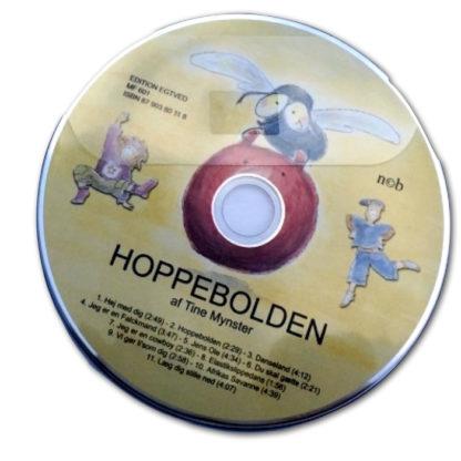 cd med alle børnesangene følger med