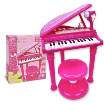Elektrisk piano til børn i pink