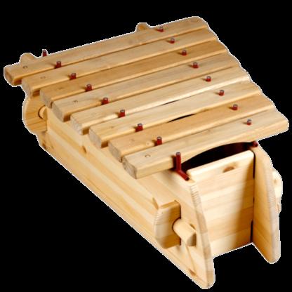 Marimba i træ otte toner fra c til c
