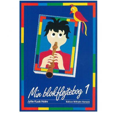 Blokfløjteskole til 7-9 år begynder blokfløjte bog