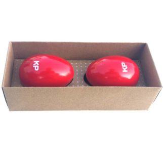 2 rytmeæg i træ røde