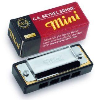 Mini mundharmonika med 8 toner i c fra Seydel