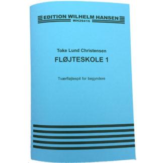 Blå tværfløjtebog for begyndere