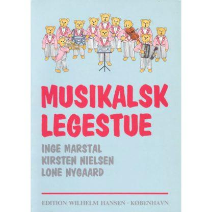 Bog Musikalsk Legestue forside